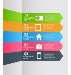Infographic template business vector image vector image