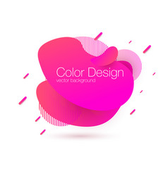 abstract modern graphic elements gradient vector image