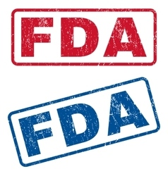 FDA Rubber Stamps vector