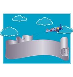 Flying roll vector