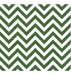 green chevron grunge pattern background vector image