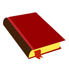 Isolated book icon vector