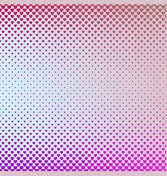 retro gradient heart pattern background design - vector image