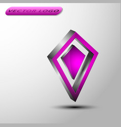 The 3d dimond vector