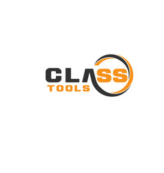tools class construction logo designs simple vector image