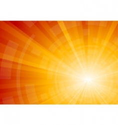 vector bright sunny background vector image