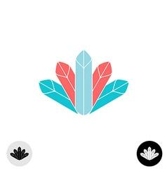 Diamonds logo vector image