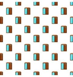 Wardrobe pattern cartoon style vector image vector image
