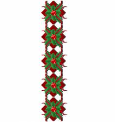 christmas ornament vector image