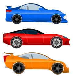 Design a Sports Car and Muscle Car vector image vector image