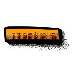 Cartoon image of minus vector