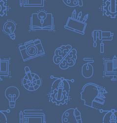 creative design icon pattern vector image