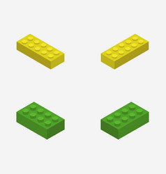 Lego icon in on white background vector