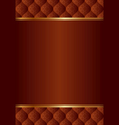 Maroon background with vintage pattern vector
