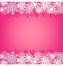 pink snow background vector image