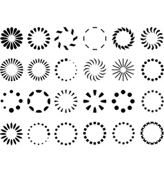 Preloaders vector image