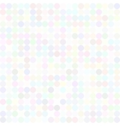 Sequins dotted iridescent pattern vector image