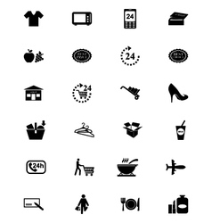 Shopping Solid Icons 2 vector