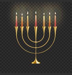 stock hanukkah vector image