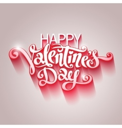 Valentine Day postcard vector image