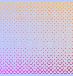 gradient abstract heart pattern background - love vector image vector image