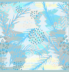 trendy abstract seamless pattern modern abstract vector image vector image