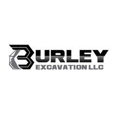 Building excavator logo design simple vector