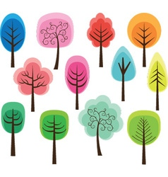 Cute Tree vector