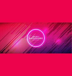 neon glowing futuristic abstract background vector image
