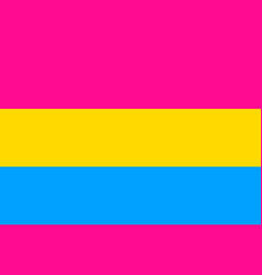 pansexual standard movement lgbt flat icon vector image