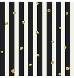 Chevron seamless pattern Black bold lines and vector image vector image