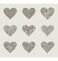 Heart design an element2 vector image vector image