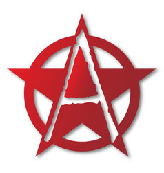 Anarchy a letter vector