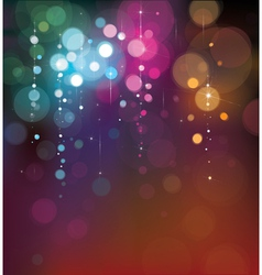 bokeh background vector image vector image