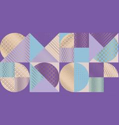Elegant luxury geometric pattern vector