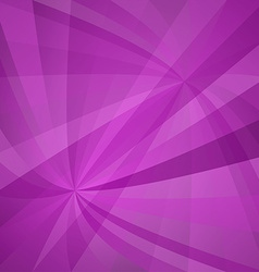 Magenta curved ray design vector