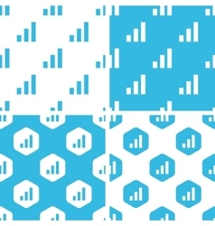 Volume scale patterns set vector