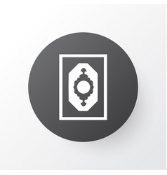 mushaf icon symbol premium quality isolated vector image