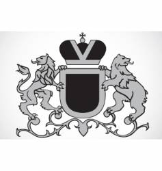 lion ornament vector image