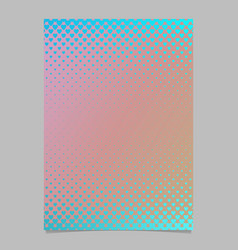 abstract gradient heart pattern page template - vector image