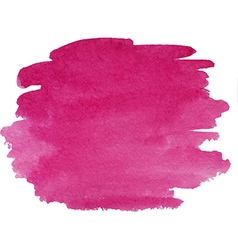 Abstract watercolor hand paint purple texture vector image