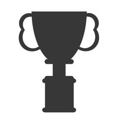 cup winner trophy icon vector image