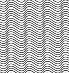 Flat gray with horizontal wave texture vector image