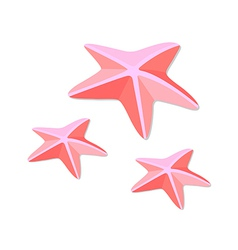 Icon starfish vector