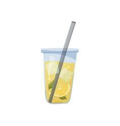 Lemonade hand drawn flat vector