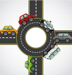 Road highway vector
