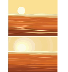 sands vector image