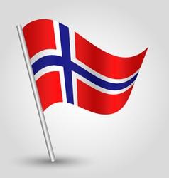 flag norway vector image