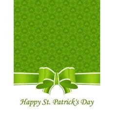 Greeting Card St Patricks Day vector image vector image