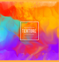 Awesome colorful watercolor texture background vector